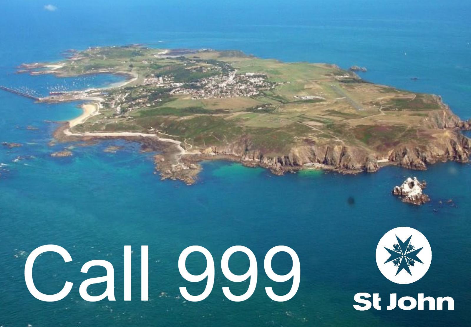 Call 999 - St John Alderny