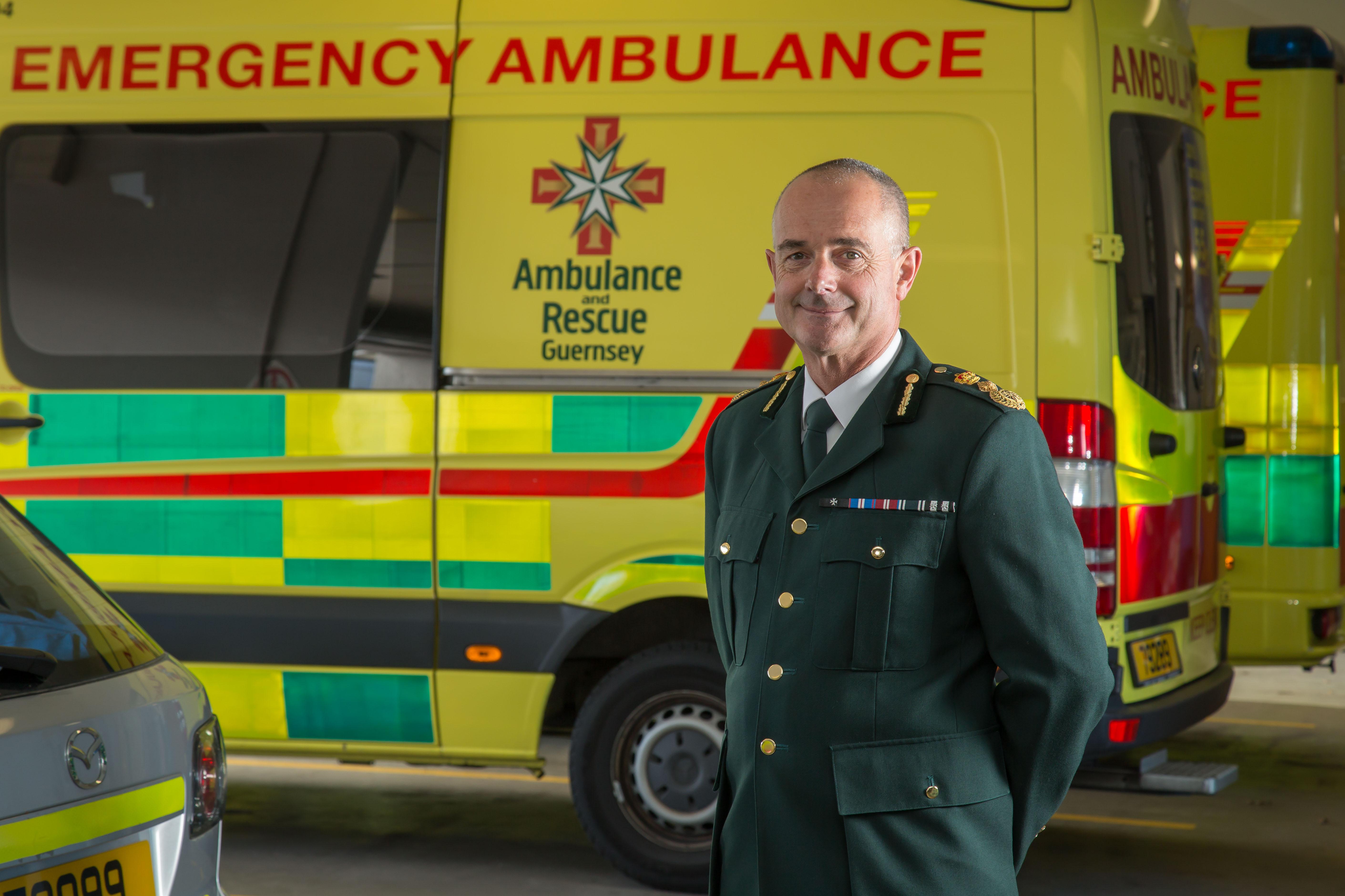 Jon Beausire - Chief Ambulance Ofiicer at St John Ambulance and Rescue